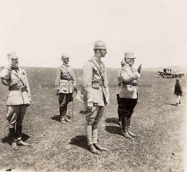 Carol II of Romania. 1918