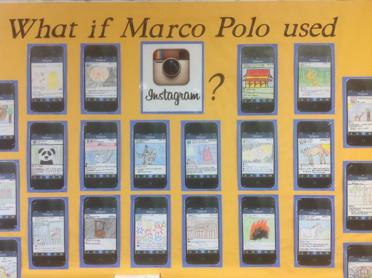 During our study of China, my 7th graders looked at the life of Marco Polo. We discussed how Europeans didn't believe his tales and how historians have debated whether or not he really traveled to China. If only he had access to social media! We had some fun creating Instagram posts for the explorer as an activity.