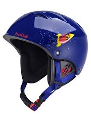 Bolle B-Kid Helmet - Shiny Blue Rocket Provide your child with optimal protection with the B-Kid Helmet from Bolle! This kidapos