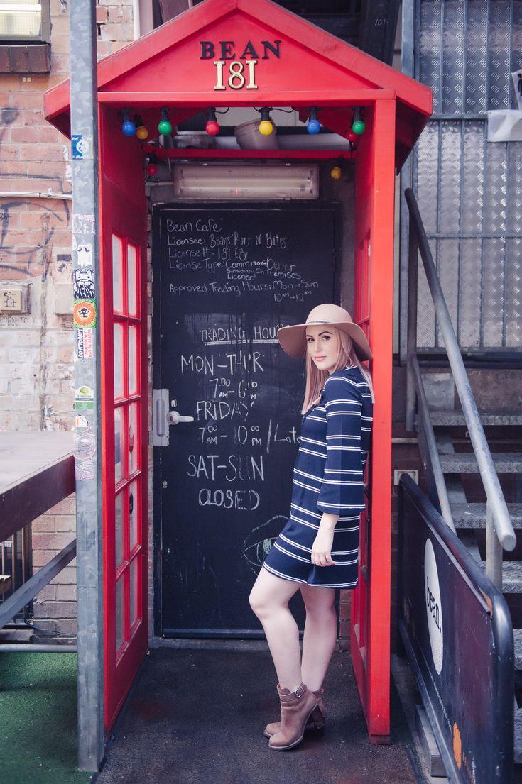 Weekend Essentials | Stripe Shift Dress | The Blonde Silhouette