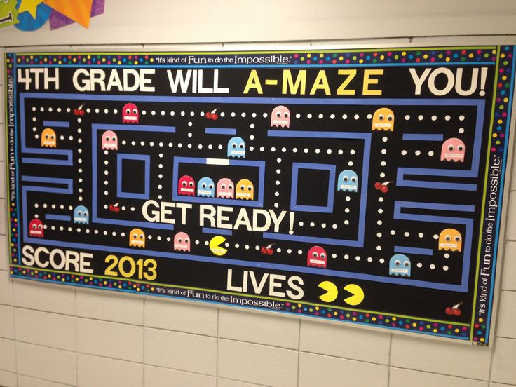 Go Retro with your back-to-school boards