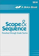 A Beka Scope and Sequence Overview for Preschool through 6th grade