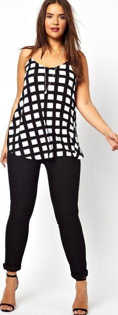 summer fashion plus size 2014 - Can plus size women wear prints? (article)