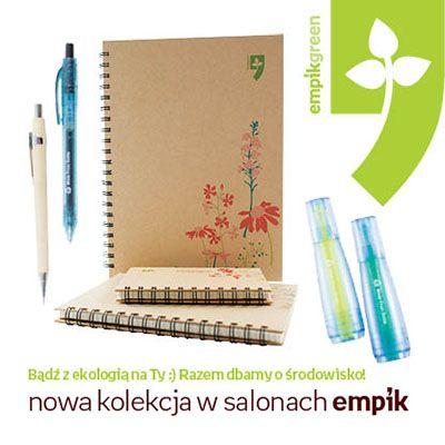 Piękna i ekologiczna - taka jest nowa kolekcja artykułów papierniczych - Empikgreen