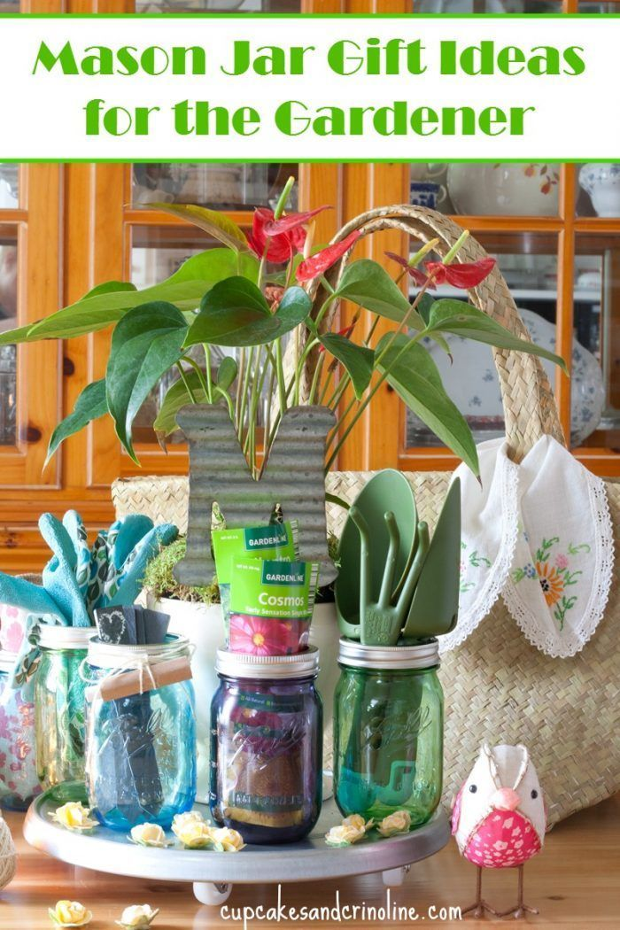 Mason Jar Gardening Gifts For Mom
