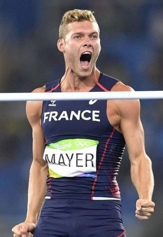 Kevin Mayer - Decathlon - France - JO 2016