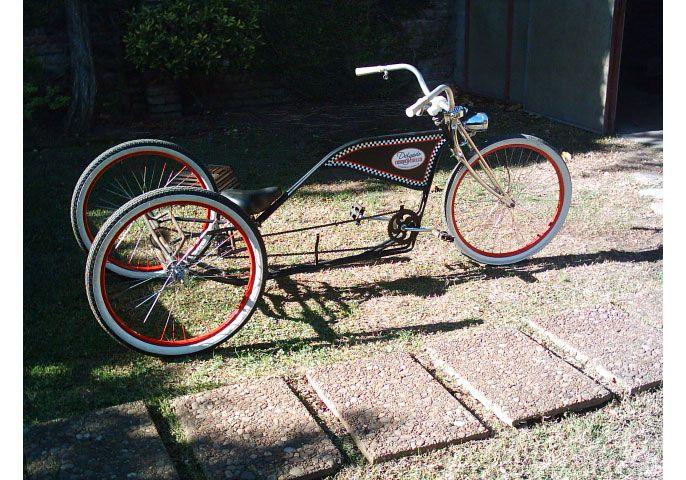 Triciclo Kustom. (Gentileza Martín Delgado)