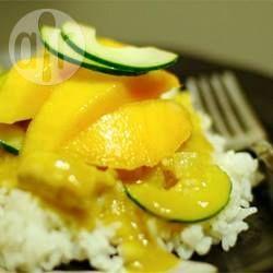 Chicken, Coconut and Mango Curry @ allrecipes.com.au