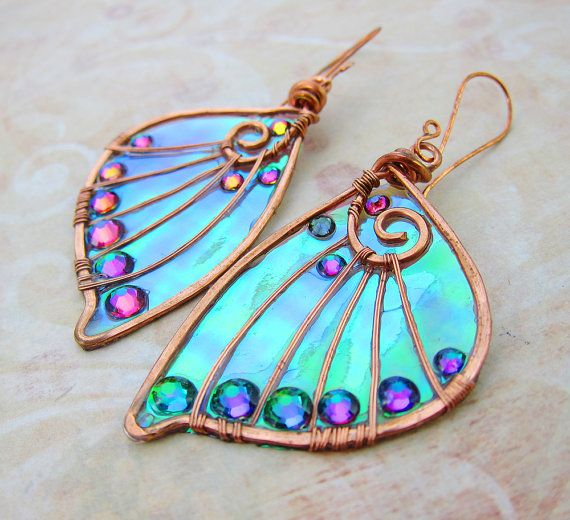 Sihaya Designs Faery Wing Earrings The Elf Queen