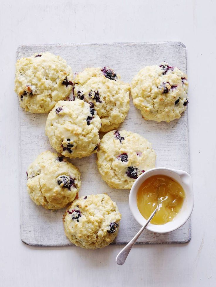 Blueberry Scones from www.whatsgabycooking.com