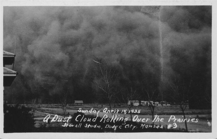 Dust Bowl - Black Sunday, April 14, 1935
