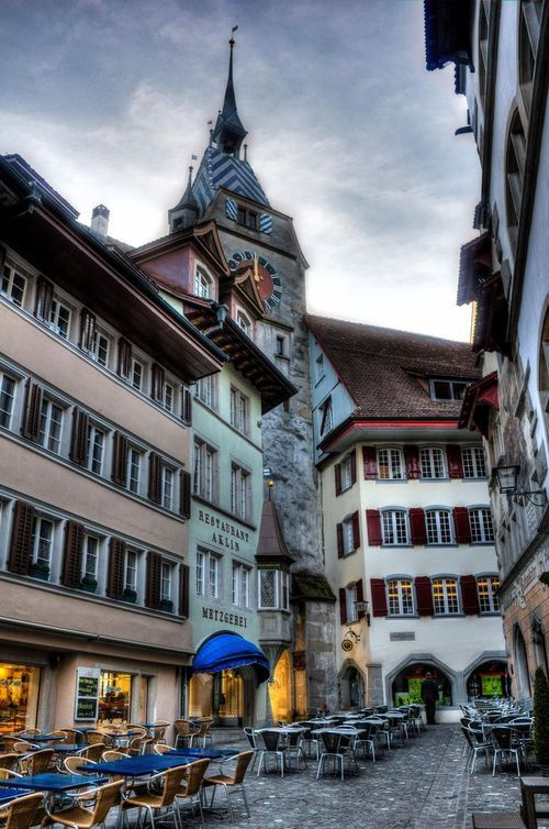 Old Town of Zug, Switzerland