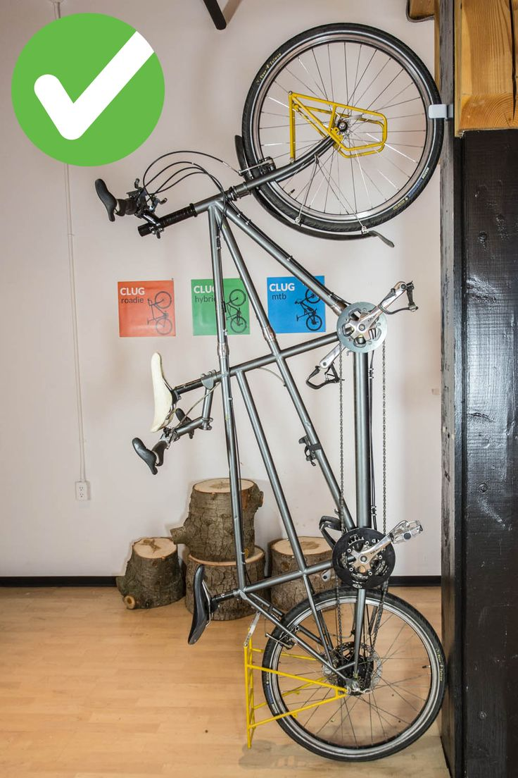 Look jeremy s bicycle rack apartment therapy - Get Clug Will It Clug Episode 1