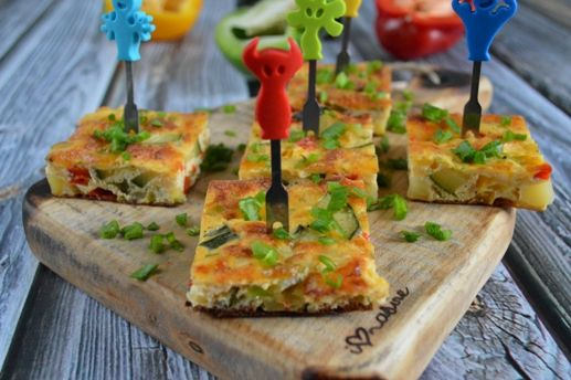 Warzywna tortilla z piekarnika