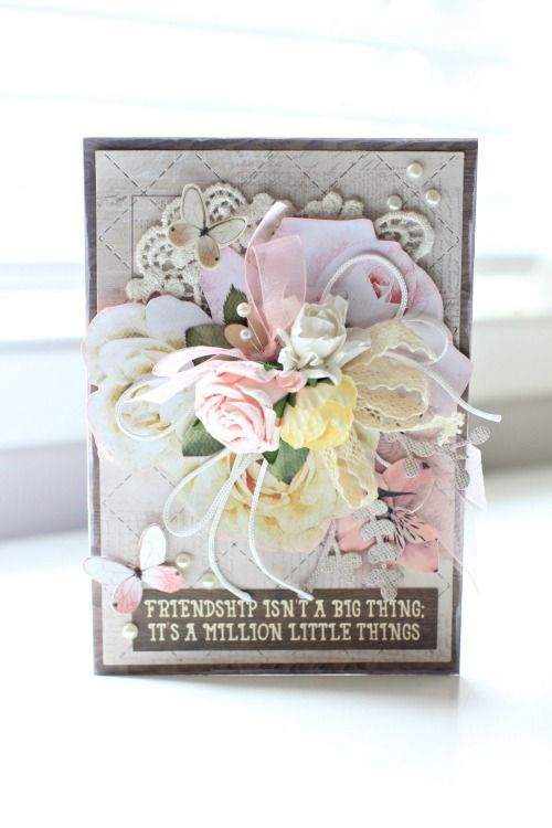 Kaisercraft Mademoiselle Card by Alicia McNamara