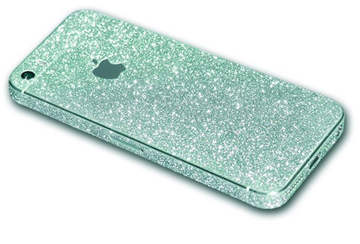 Premium Glitzer Folie iPhone 5/5S - Candy Apple