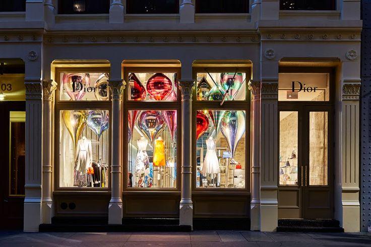 THE SHOP LOCATOR: Dior Store By Peter Marino. Soho New York.
