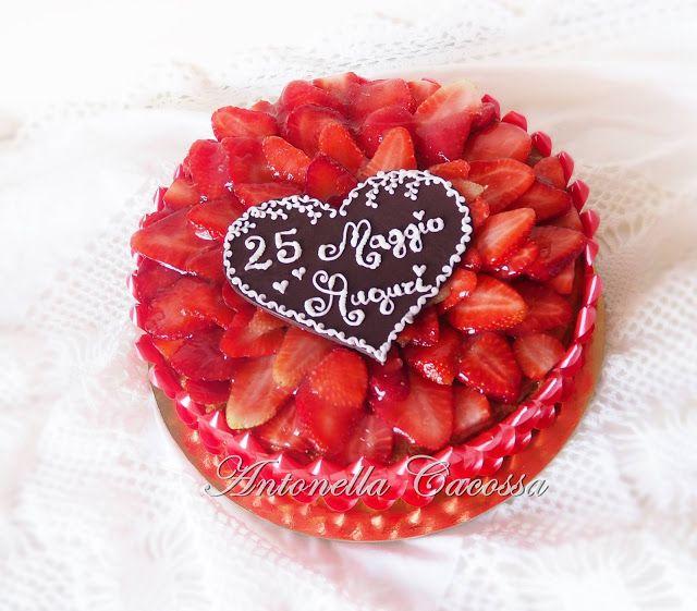 Le Torte di Antonella Cacossa e non solo...: Cuore di fragole