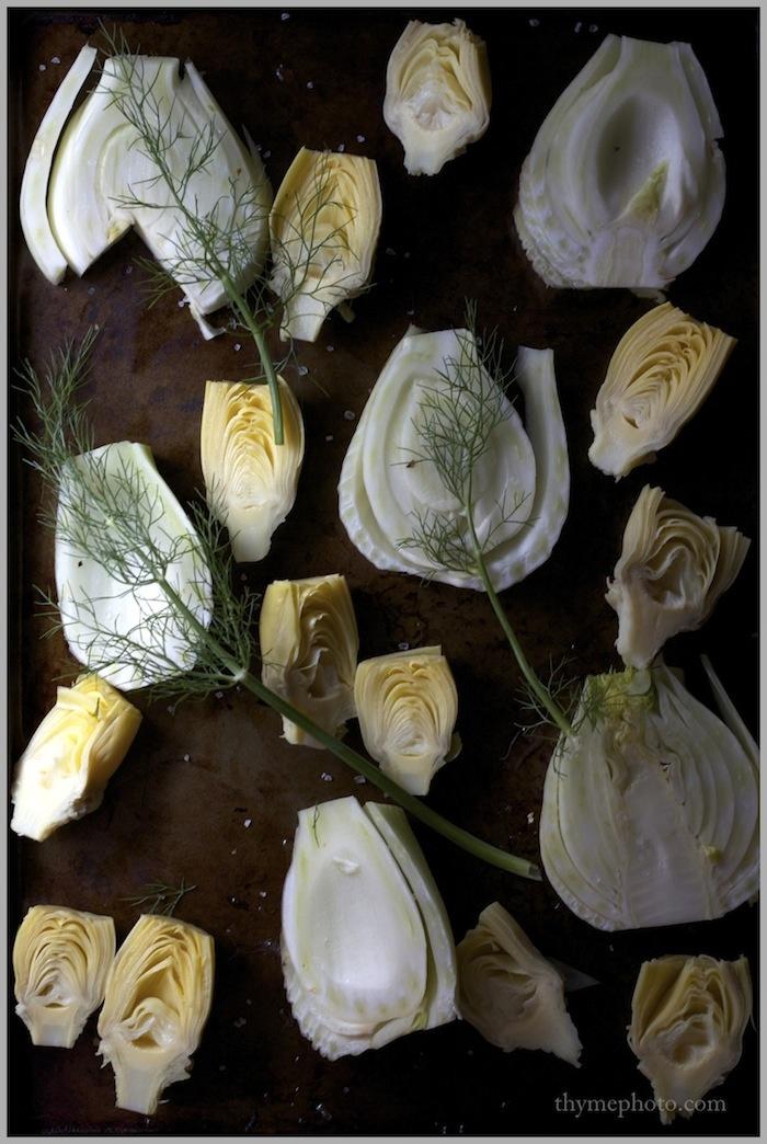 Roasted Fennel and Artichoke Hearts | Yummy Food | Pinterest
