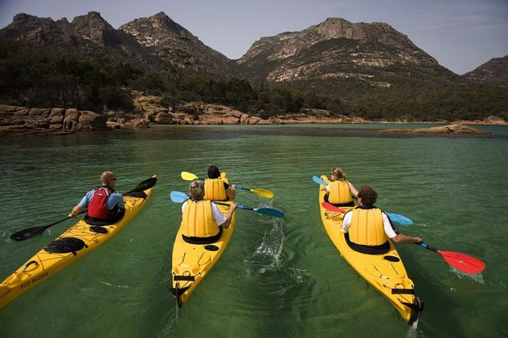 The Freycinet Paddle in Tasmania is the perfect way to experience Freycinet National Park in 3 hours. The Freycinet Paddle was listed #4 must-do experience in Australia on the Nine Network's Things to Try Before you Die.   On this relaxed guided tour of the Freycinet coastline you'll glide beneath pink granite mountains, past pristine sandy beaches and across waters so clear you feel you can touch the marine life below.