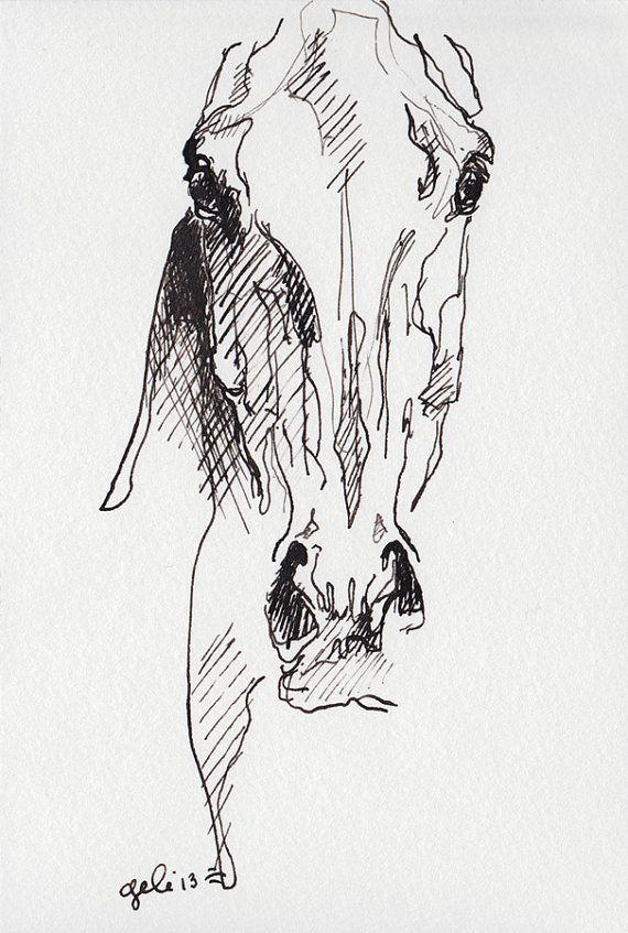 Best 25 Tattoo caballo ideas on Pinterest  Dibujo de cabeza de