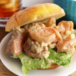Maryland Style Shrimp Salad Sandwich feature