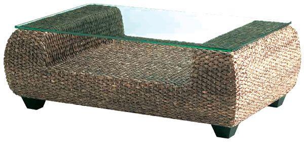 water hyacinth coffee table. | balinese furniture | pinterest