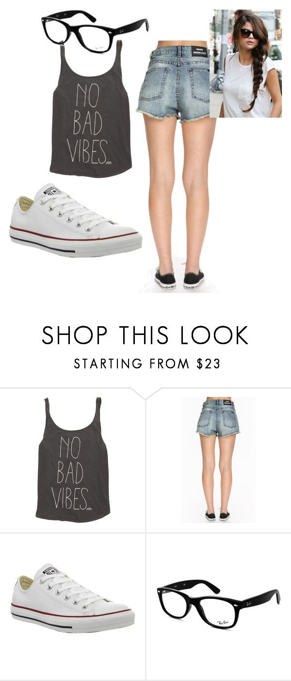 """Untitled #7"" by keepsmileanna on Polyvore featuring Billabong, Dr. Denim, Converse, Ray-Ban, women's clothing, women's fashion, women, female, woman and misses"