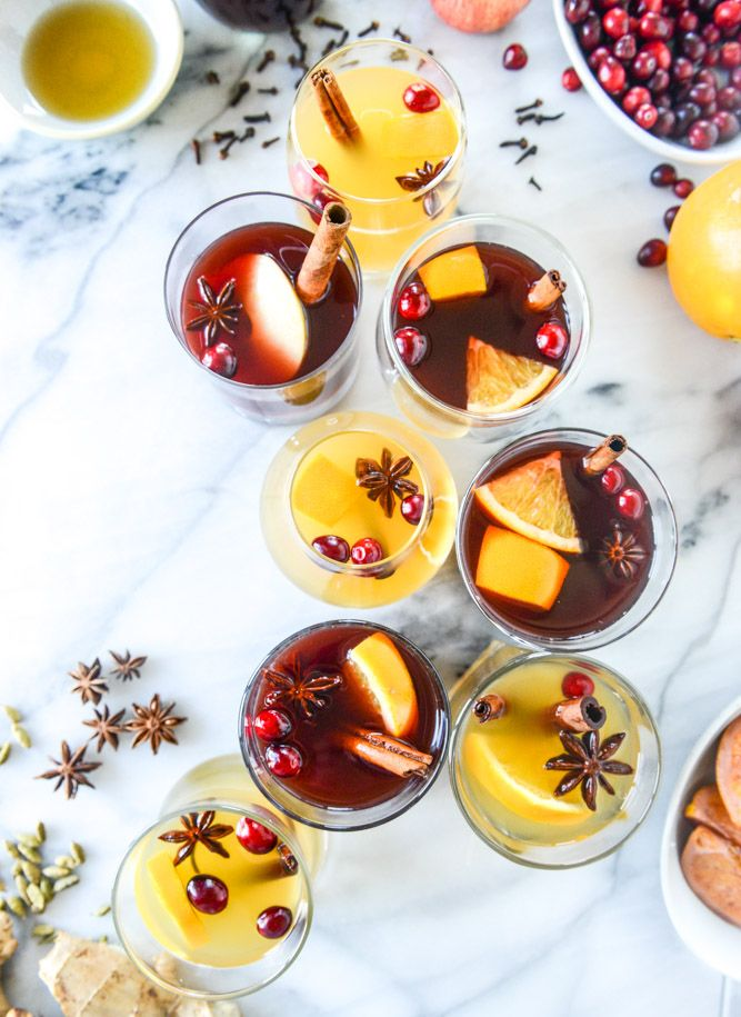 So pretty! Mulled Wine, two ways ::: from @howsweeteats