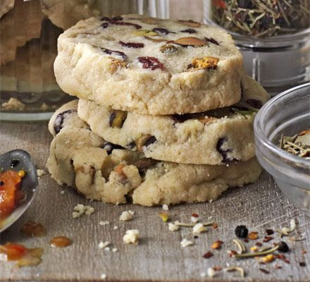 These crunchy, fruit & nut biscuits are sure to be a family favourite - make ahead and freeze, or wrap up for the perfect homemade gift