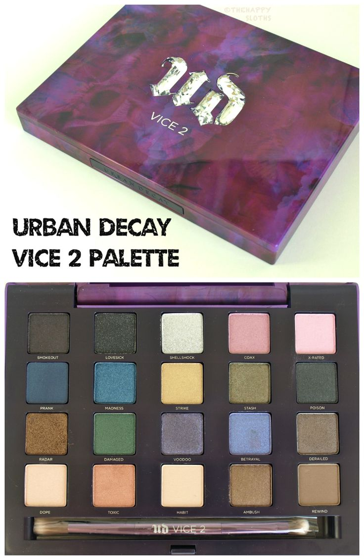 Urban Decay Vice 2 Palette. My brand new gorgeous palette. I am totally obsessed with this. The colours are amazing and so pigmented. Colours for the daytime and plenty for nights out.