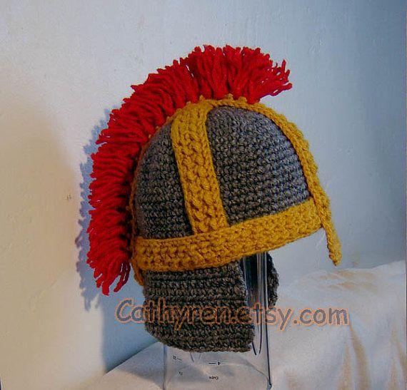Crochet helmel
