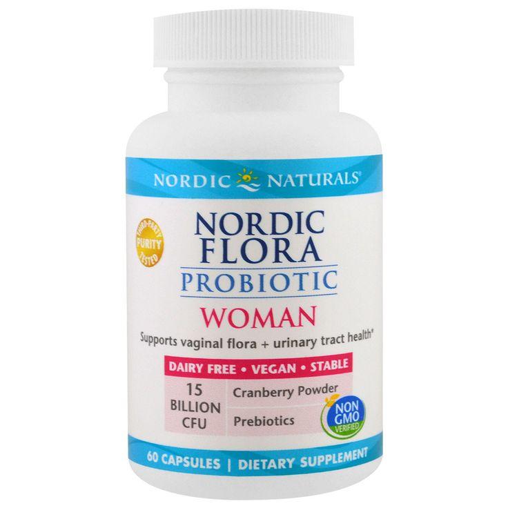 Nordic Naturals, Nordic Flora Probiotic, Woman, 60 Capsules