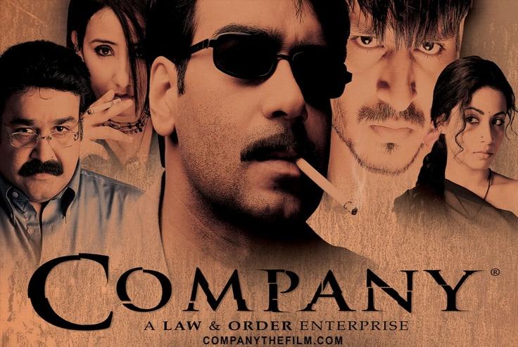 COMPANY (2002) - Directed by Ram Gopal Varma.  Starring Ajay Devgan, Manisha Koirala, Vivek Oberoi, and Antara Mali.   A true masterpiece of Hindi cinema.