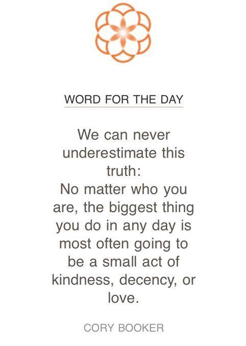 Wir können diese Wahrheit niemals unterschätzen:. Egal, wer du bist die größte Sache … – Quotes