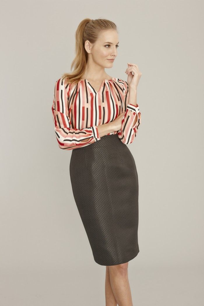 how to make a pencil skirt out of pants