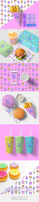 Harajuku Kira Kira Burger by Shanti Sparrow Design
