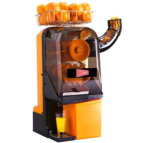 Cecilware JX15MC Compact Manual Feed Orange Juice Machine