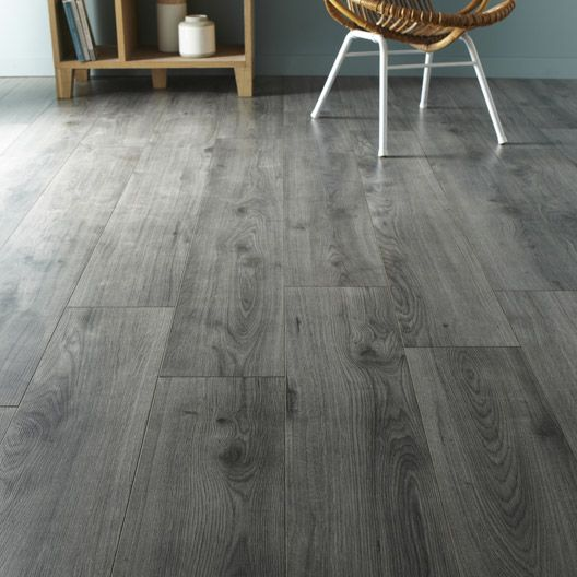 1000 ideas about parquet gris on pinterest parquet gris - Parquet stratifie salle de bain leroy merlin ...