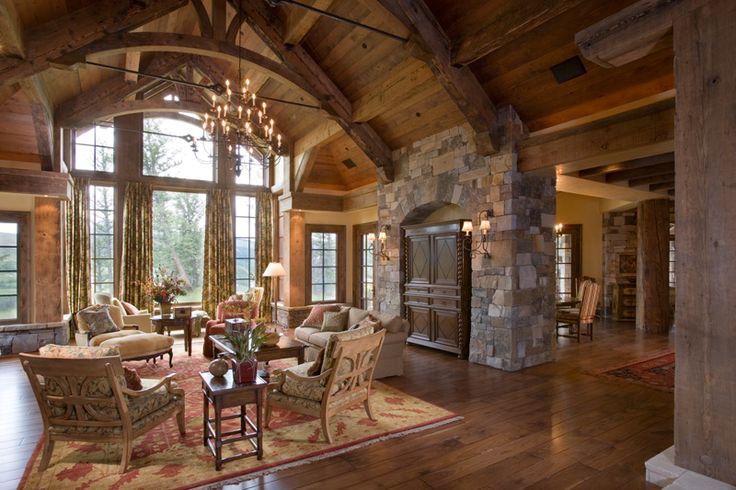 Great Rustic Living Room