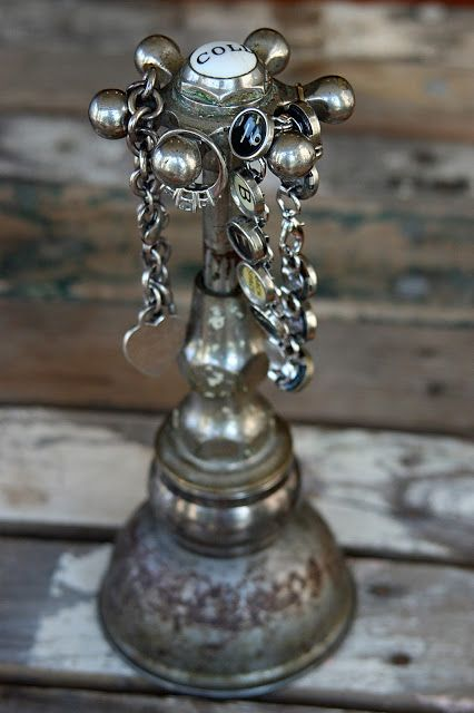10 Creative Repurposing Ideas - including this faucet jewelry holder! Many cute ideas here...!