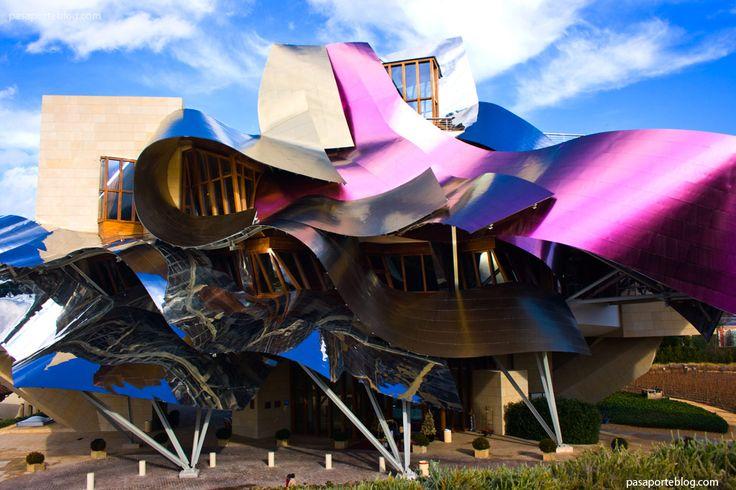 Bodegas Marqués de Riscal, el hotel de la arquitectura del vino, Frank Gehry