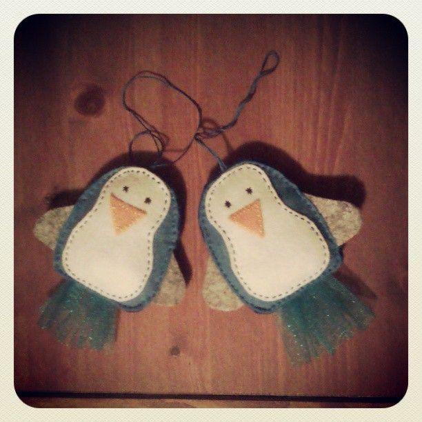 Penguins  #felt