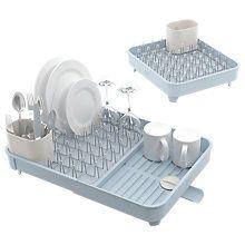 Buy Joseph Joseph Extend Expandable Dish Rack,Blue/Grey Online at johnlewis.com