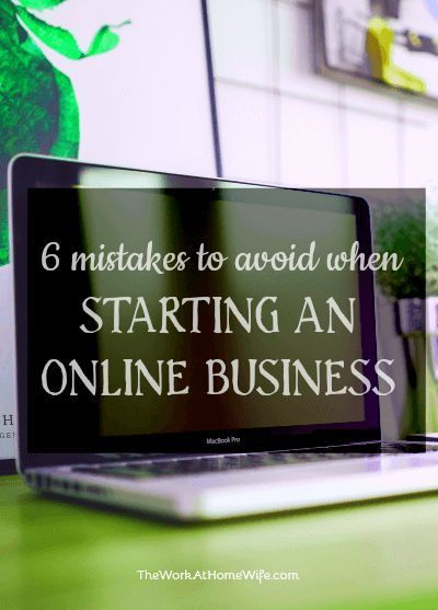 Avoid these mistakes when starting an online business business tips #succeed #business