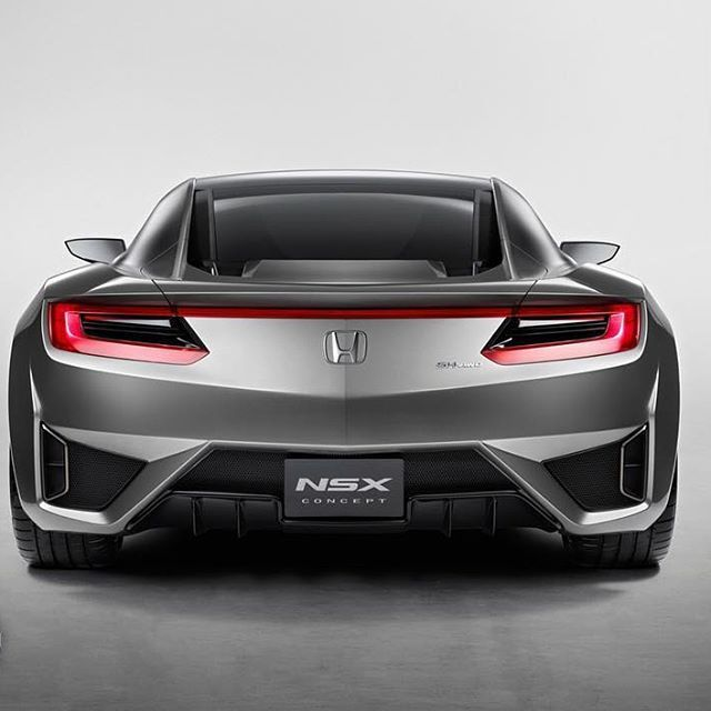 Would You Say This #HondaNSX Concept Is 'GORGEOUS' Or