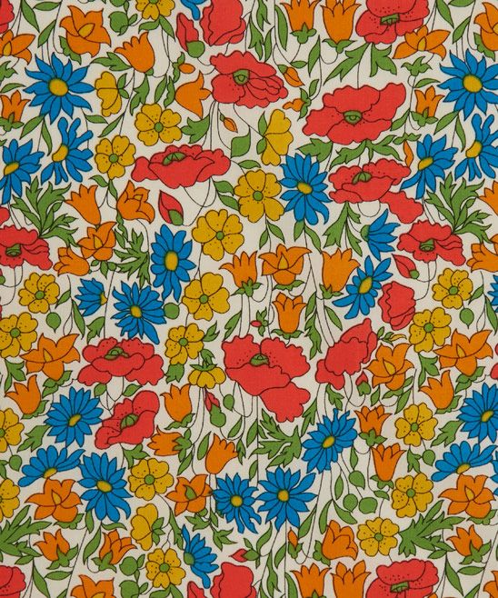 Liberty Art Fabrics Poppy and Daisy M Tana Lawn Cotton