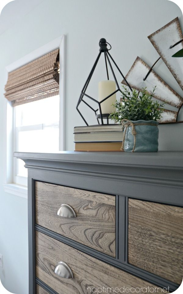 Because nothing stays the same around here for too long, I changed up my husband's dresser...AGAIN. When we moved into our house almost 10 years ago, we bought a grown-up bedroom set and we were so...