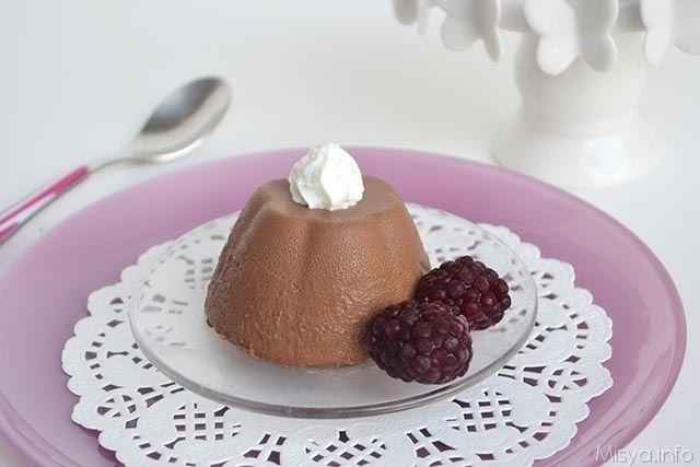 Budino al cioccolato, scopri la ricetta: http://www.misya.info/ricetta/budino-al-cioccolato.htm