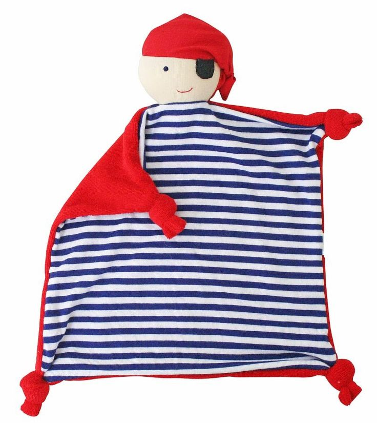 Alimrose Pirate Comforter - Navy - Our sweet pirate is now available in a soft and cuddly comforter.
